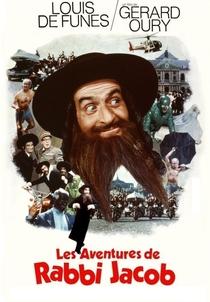 As Loucas Aventuras do Rabbi Jacob - Poster / Capa / Cartaz - Oficial 2