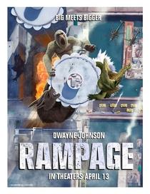 Rampage: Destruição Total - Poster / Capa / Cartaz - Oficial 10