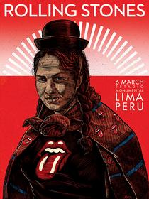 Rolling Stones - Lima 2016 - Poster / Capa / Cartaz - Oficial 1