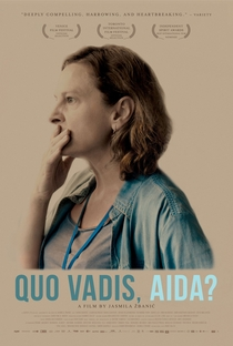 Quo Vadis, Aida? - Poster / Capa / Cartaz - Oficial 1