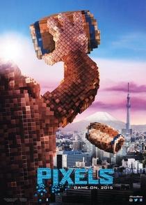 Pixels: O Filme - Poster / Capa / Cartaz - Oficial 6