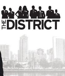 The District (1ª Temporada)  - Poster / Capa / Cartaz - Oficial 1