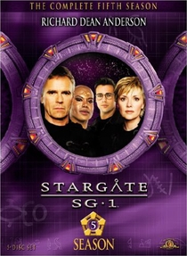 Stargate SG-1 (5ª Temporada) - Poster / Capa / Cartaz - Oficial 1