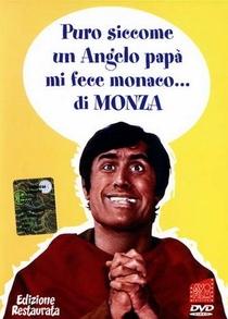 Puro Como Um Anjo, Meu Pai Me Fez Monge - Poster / Capa / Cartaz - Oficial 1