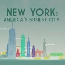 New York: America's Busiest City - Poster / Capa / Cartaz - Oficial 1