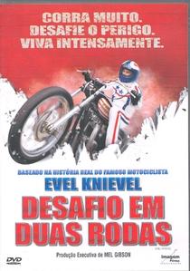 Evel Knievel - Desafio em Duas Rodas - Poster / Capa / Cartaz - Oficial 1
