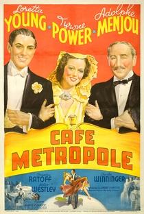 Café Metropole - Poster / Capa / Cartaz - Oficial 4