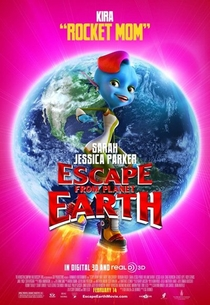 A Fuga do Planeta Terra - Poster / Capa / Cartaz - Oficial 7