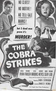 The Cobra Strikes - Poster / Capa / Cartaz - Oficial 3