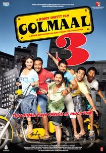 Golmaal 3 - Poster / Capa / Cartaz - Oficial 3