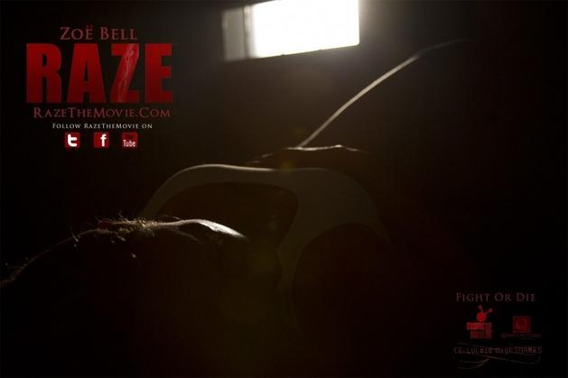 "Zoe Bell na nova imagem de ""Raze"""