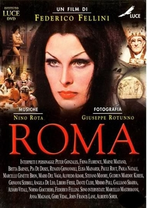 Roma de Fellini - Poster / Capa / Cartaz - Oficial 4