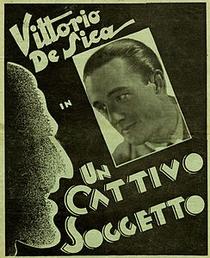 Un Cattivo Soggetto - Poster / Capa / Cartaz - Oficial 1