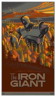 O Gigante de Ferro - Poster / Capa / Cartaz - Oficial 1