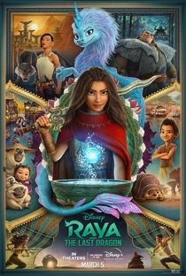 Raya e o Último Dragão - Poster / Capa / Cartaz - Oficial 5
