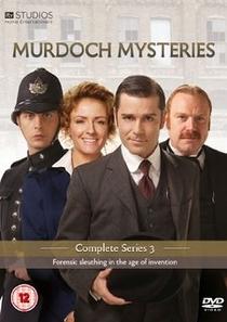 Os Mistérios do Detetive Murdoch (3ª temporada) - Poster / Capa / Cartaz - Oficial 2