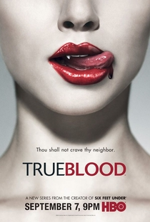True Blood (1ª Temporada) - Poster / Capa / Cartaz - Oficial 2