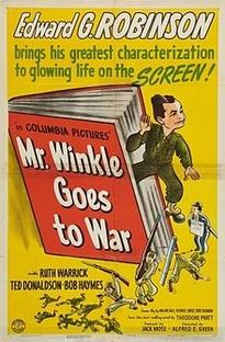 Mr. Winkle Vai para a Guerra - Poster / Capa / Cartaz - Oficial 1