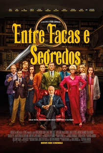 Entre Facas e Segredos - Poster / Capa / Cartaz - Oficial 1