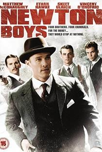 Newton Boys - Irmãos Fora-da-Lei - Poster / Capa / Cartaz - Oficial 5
