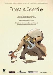 Ernest e Célestine - Poster / Capa / Cartaz - Oficial 2