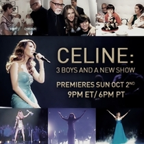 Celine: 3 Boys and a New Show - Poster / Capa / Cartaz - Oficial 1