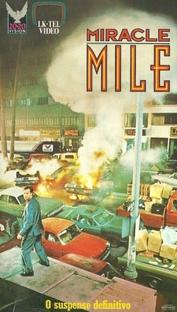 Miracle Mile - Poster / Capa / Cartaz - Oficial 2
