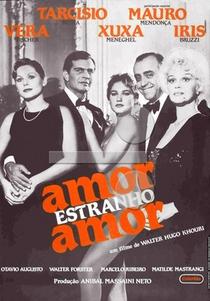 Amor Estranho Amor - Poster / Capa / Cartaz - Oficial 3