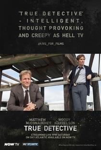 True Detective (1ª Temporada) - Poster / Capa / Cartaz - Oficial 14
