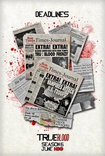True Blood (6ª Temporada) - Poster / Capa / Cartaz - Oficial 2