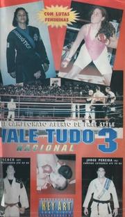 3º Campeonato Aberto de Free Style - Vale Tudo Nacional - Poster / Capa / Cartaz - Oficial 1