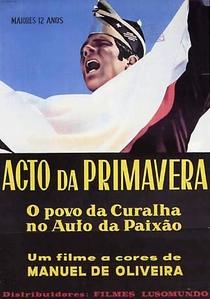 Ato da Primavera - Poster / Capa / Cartaz - Oficial 1