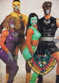 Os Jovens Guerreiros Tatuados de Beverly Hills - Poster / Capa / Cartaz - Oficial 3