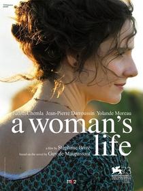 A Vida de Uma Mulher - Poster / Capa / Cartaz - Oficial 3