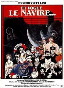 E La Nave Va - Poster / Capa / Cartaz - Oficial 5