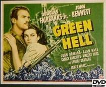 O Inferno Verde - Poster / Capa / Cartaz - Oficial 1