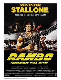 Rambo - Programado Para Matar - Poster / Capa / Cartaz - Oficial 6