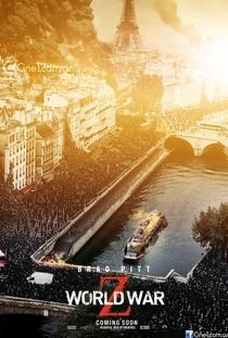 Guerra Mundial Z - Poster / Capa / Cartaz - Oficial 5