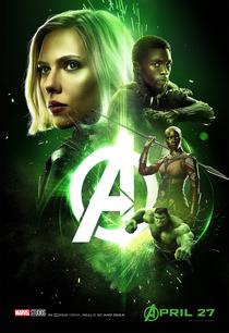 Vingadores: Guerra Infinita - Poster / Capa / Cartaz - Oficial 17