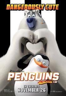 Os Pinguins de Madagascar - Poster / Capa / Cartaz - Oficial 5