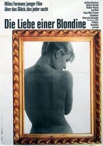 Os Amores de uma Loira - Poster / Capa / Cartaz - Oficial 3