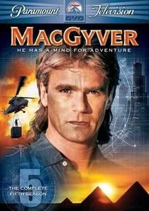 MacGyver - Profissão: Perigo (5ª Temporada) - Poster / Capa / Cartaz - Oficial 1