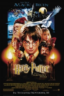 Harry Potter e a Pedra Filosofal - Poster / Capa / Cartaz - Oficial 2