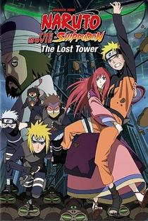 Naruto Shippuden 4: A Torre Perdida - Poster / Capa / Cartaz - Oficial 3