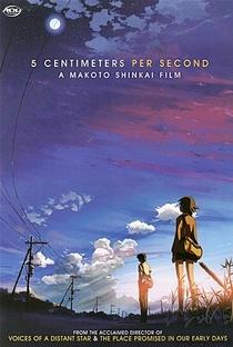 Cinco Centímetros por Segundo - Poster / Capa / Cartaz - Oficial 4