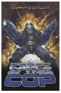Space Cop - Poster / Capa / Cartaz - Oficial 3