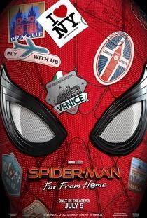 Homem-Aranha: Longe de Casa - Poster / Capa / Cartaz - Oficial 1