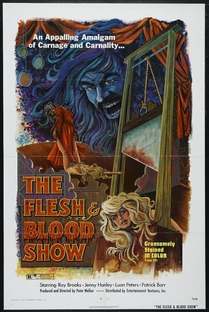 The Flesh and Blood Show - Poster / Capa / Cartaz - Oficial 1