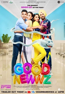 Good Newwz - Poster / Capa / Cartaz - Oficial 4