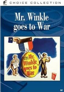 Mr. Winkle Vai para a Guerra - Poster / Capa / Cartaz - Oficial 3
